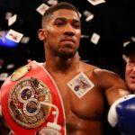 Anthony Joshua British Boxer Wins Povetkin Via Knockout