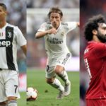 Fifa's Best Player: Ronaldo, Modric and Salah in Final Three