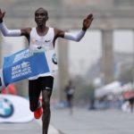 Kenya's Eliud Kipchoge Sets New Marathon World Record in Berlin