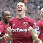 West Ham Rice gives Hammers rare win over Arsenal