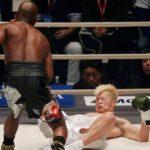 Floyd Mayweather Floors Tenshin Nasukawa 3 Times