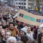 Thousands skip school to attend Belgium climate Protest