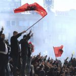 Protesters in Albania attack PM's office