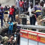 In Nigeria: Pupils trapped and Injured under Lagos School Collapse Building