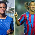 Ronaldinho's son signs professional contract with Cruzeiro