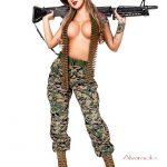 Female U.S. Marine, Combat Barbie Flaunts Her Hot Assets In New Photos
