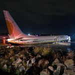 A Boeing 737 with 143 people crashes into river in Florida