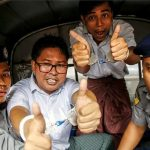 Jailed Reuters journalists freed in Myanmar