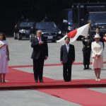 Trump becomes first head of state to meet Japan's new emperor