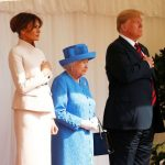 President Trump meets Queen at start of UK state visit