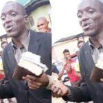 Evangelist Beaten Mercilessly For Stealing Phones While Preaching In Ibadan
