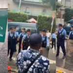 IPOB Members Storm Nigerian Ambassador's Home With Japanese Police To 'Arrest' President Buhari - Video