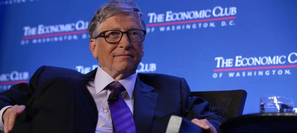 Bill Gates announces US$310 support for farmers