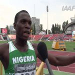 Nigerian Star Sprinter, Divine Banned From IAAF For Withdrawing From a Heat