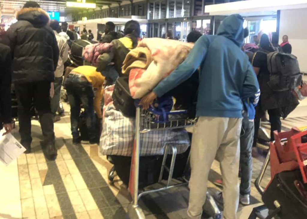 Only 188 First Set of Nigerians Fleeing South Africa arrives in Lagos