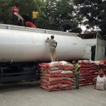 Nigerian Customs Impounds 250 Bags Of Rice Concealed In Fuel Tanker