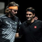 Tennis:Tsitsipas beats Federer to reach final of ATP Finals