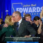 John Bel Edwards Declared winner of Louisiana governorship election