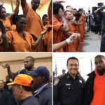 Rapper Kanye West moves prisoners to tears with powerful worship