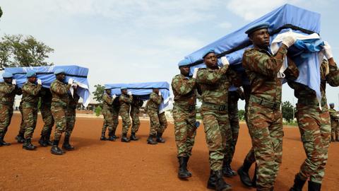 Burkinabe Army kills 32 Terrorists, frees sex slaves