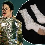 Michael Jackson's First Moonwalk Socks To Be Auctioned For $2 Million - Video