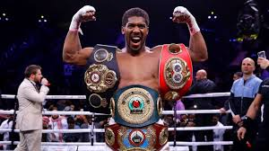 Image result for Anthony Joshua Set To Present His World Championship Belts To President, Buhari