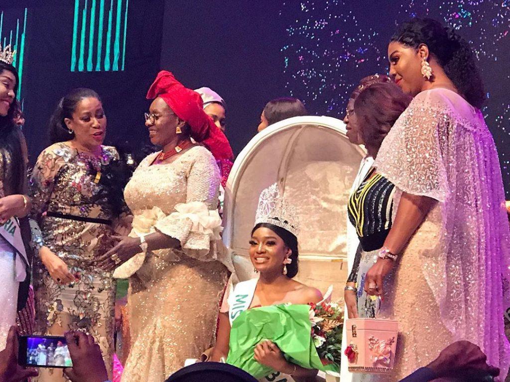 Etsanyi Tukura Becomes Miss Nigeria 2019 - Photos