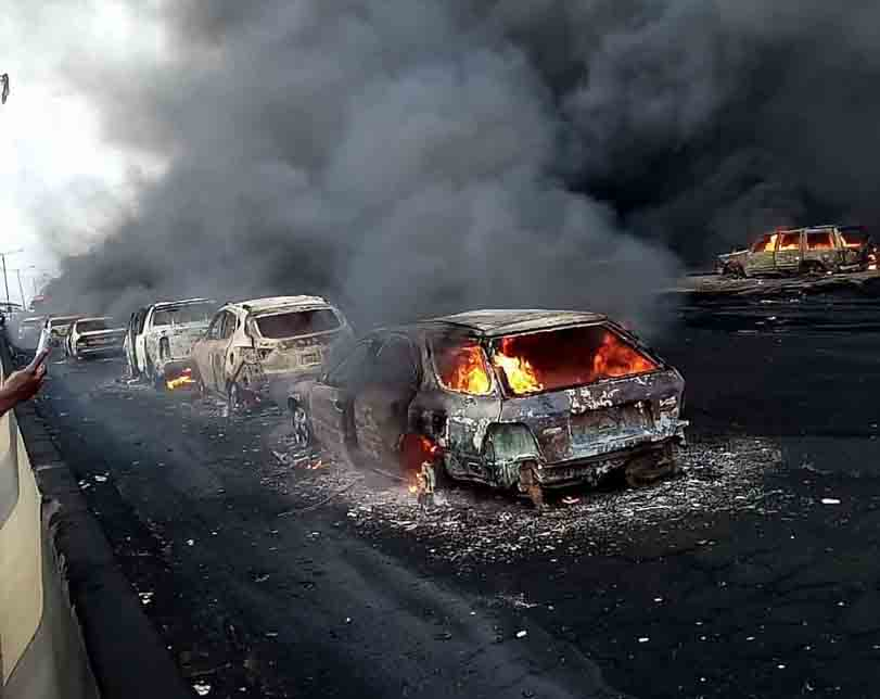 Church members burnt in Lagos pipeline explosion