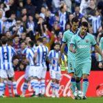 La Liga: Barcelona draw at Real Sociedad