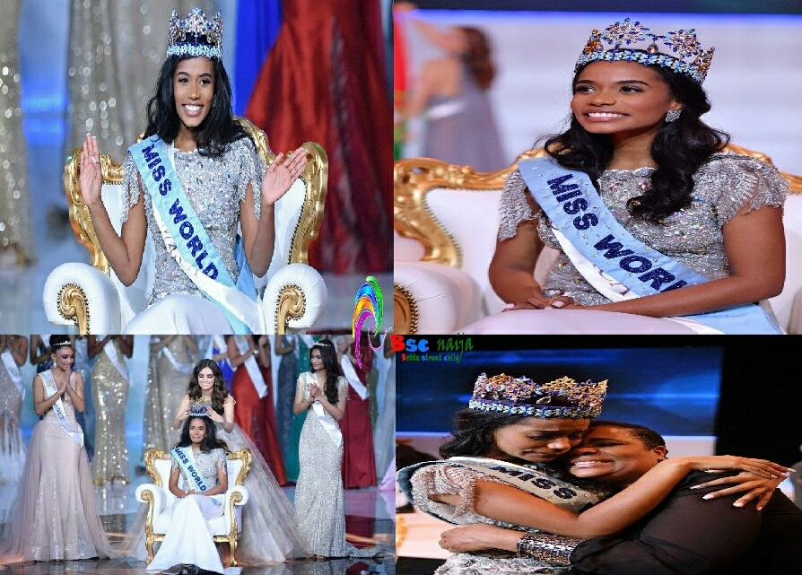 Miss Jamaica, Toni-Ann Singh Emerges Miss World 2019 (Photo)