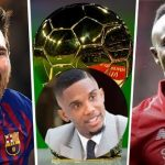 Samuel Eto'o Blames Africans For Sadio Mane Losing The Ballon D'Or To Messi