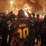 El Clásico: Catalan Clashes With Police at football match in Spain