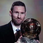 Messi wins record sixth Ballon d'Or