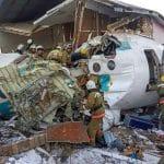 Sad - Plane crashes into house in Kazakhstan killing 14 {Video}