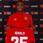 Nigerian striker, Odion Ighalo Not Among Man Utd Squad Travelling To Spain Due To Fear Of Coronavirus