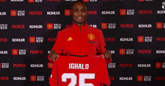 Nigerian striker Odion Ighalo Not Among Man Utd Squad Travelling To Spain Due To Fear Of Coronavirus