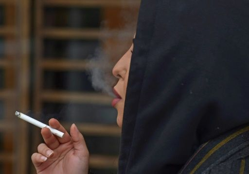 Saudi women starts smoking in public to 'complete' their freedom