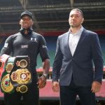 Boxing - Anthony Joshua To Defend His Heavyweight Titles Against Kubrat Pulev On June 20 at Tottenham Stadium