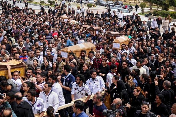 Egypt executes eight men over church bombings