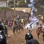 Guinea police clashes with protesters days before referendum