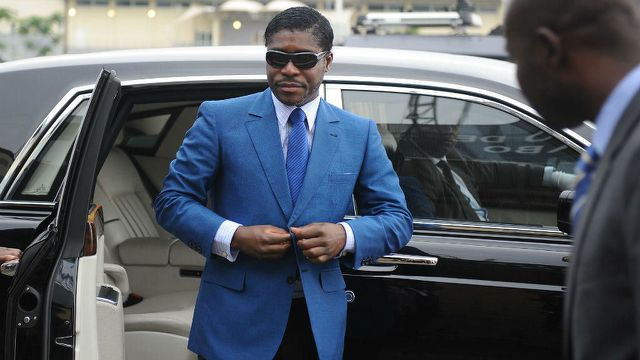 Equatorial Guinea leader's son fined 30mn euros, suspended jail confirmed