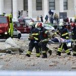 Powerful quake damages buildings in Croatia capital