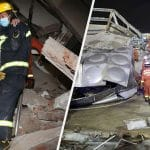 Many trapped as China Coronavirus quarantine hotel collapses - See Pics