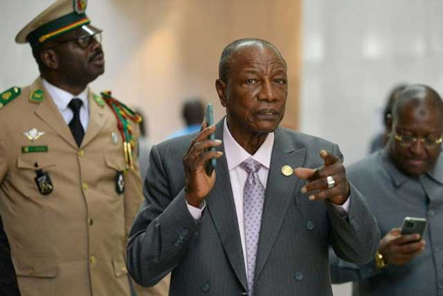 Guinea's President sets March 22 for controversial constitutional referendum
