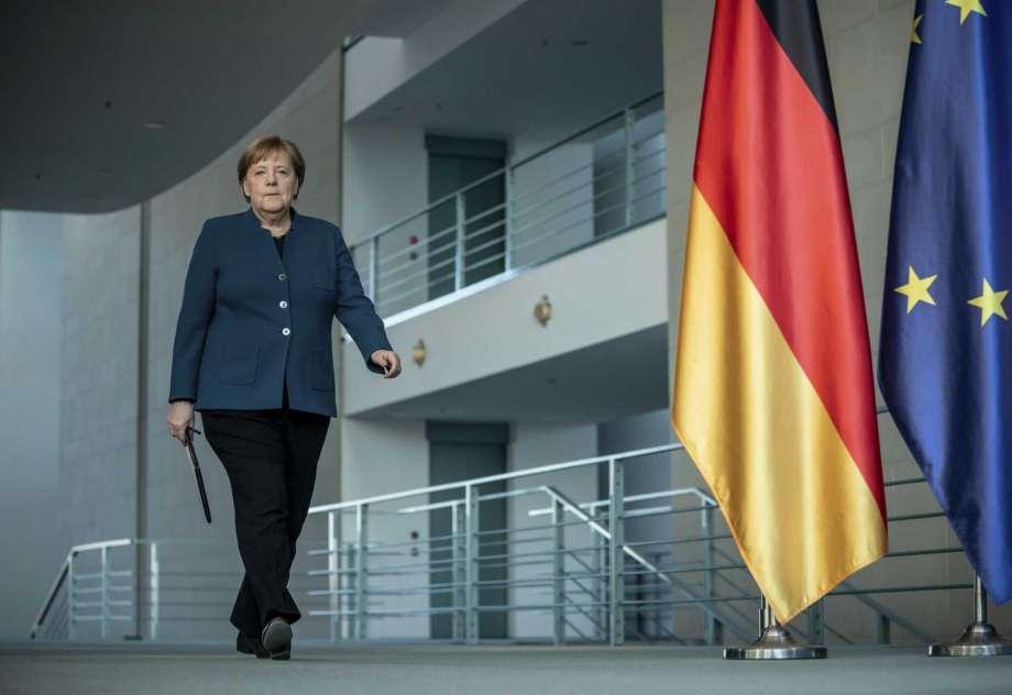 Coronavirus: First virus test negative for quarantined German Chancellor Angela Merkel