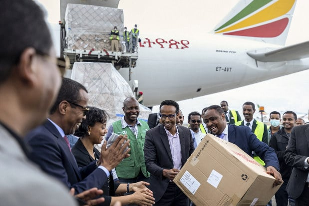 Nigeria receives COVID-19 test kits from Chinese billionaire Ma