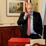 British PM Johnson in self insolation after testing positive for coronavirus