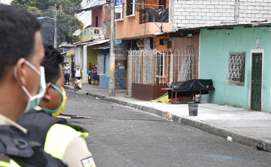 Ecuador's VP apologizes after Coronavirus corpses left on streets