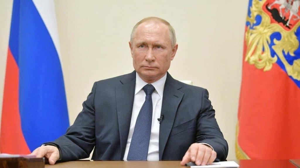 President Putin prolongs virus non-work shutdown as cases spike