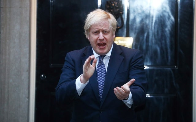 PM Boris Johnson Names Son after doctors who 'saved' his life from Covid-19